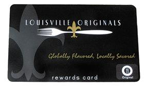 Louisville Originals Member Rewards Card