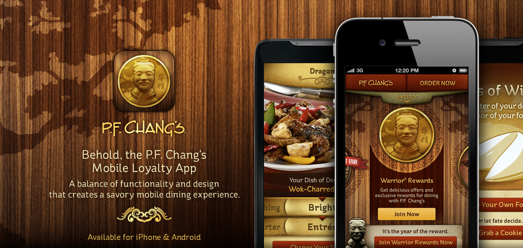 P.F. Chang's Mobile Loyalty App