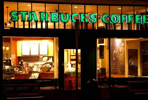 Starbucks Retail Location Image