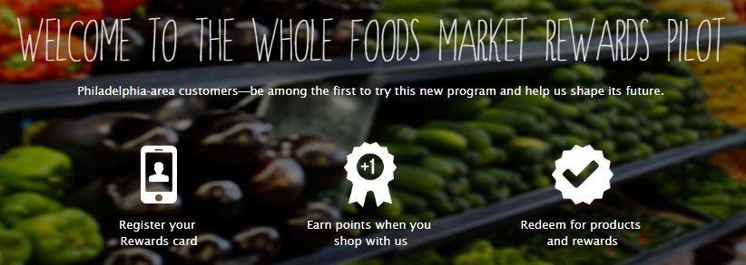 Whole Foods Rewards Spread